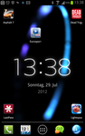 Ambient Time Live Wallpaper