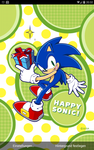 Happy Sonic Live Wallpaper